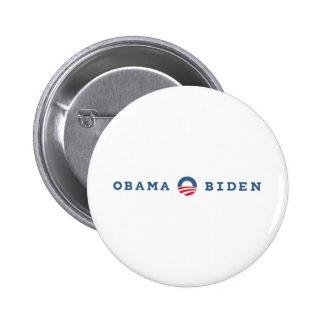Obama/Biden 2012 Pin Redondo De 2 Pulgadas