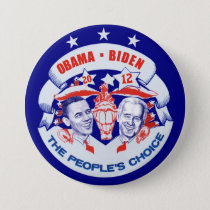 Obama Biden 2012 Pinback Button