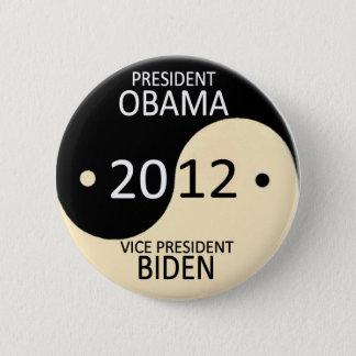 Obama/Biden 2012 Pinback Button