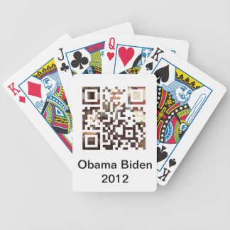 Obama Biden 2012 Playing Card