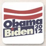 Obama Biden 2012 Posavasos De Bebidas