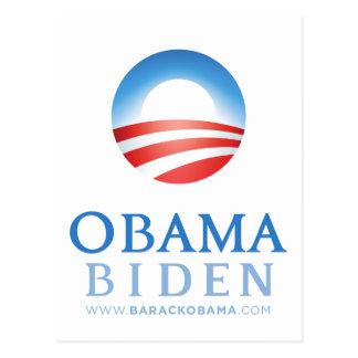Obama Biden 2012 Postcard