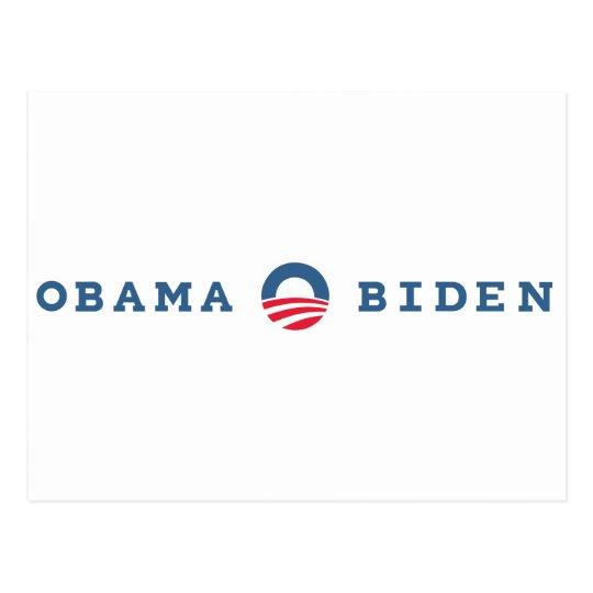 Obama / Biden 2012 Postcard