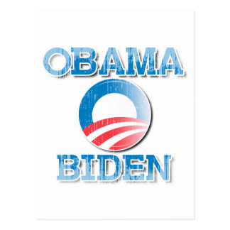 Obama Biden 2012 Pride Button Vintage.png Postcard