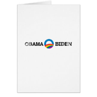 Obama Biden 2012 Pride - Vintage.png Greeting Card