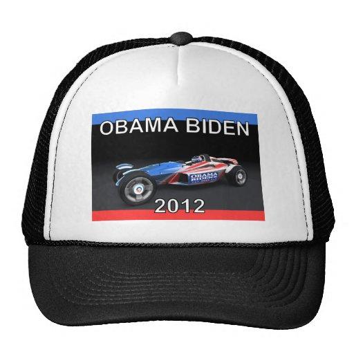 Obama Biden 2012 Racing Car - Hot and Sleek Trucker Hat