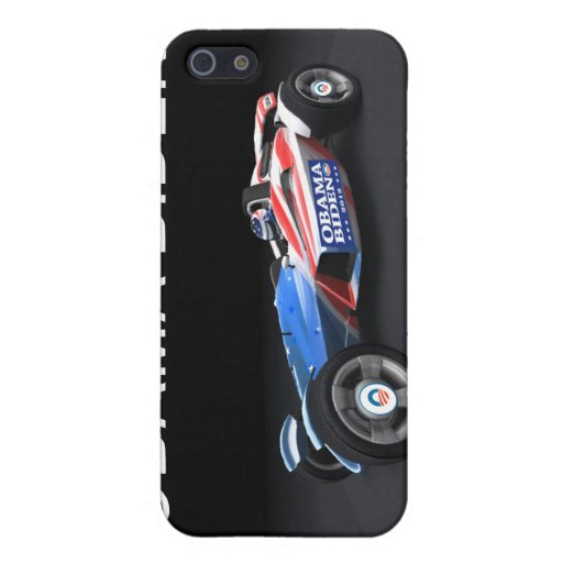 Obama Biden 2012 Racing Car iPhone 5/5S Cases