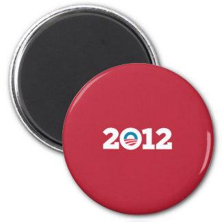 Obama Biden 2012 Red Fridge Magnet