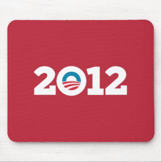 Obama / Biden 2012 (Red) Mouse Pad