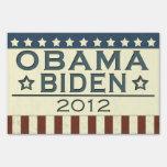 Obama Biden 2012 Signs