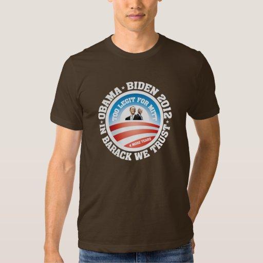 Obama - Biden 2012 T-Shirt