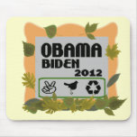 Obama Biden 2012 Tapete De Ratón