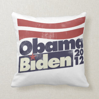 Obama Biden 2012 Throw Pillow