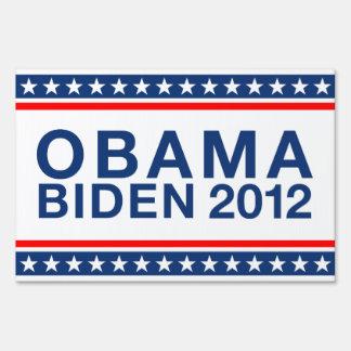 Obama Biden 2012 Lawn Sign