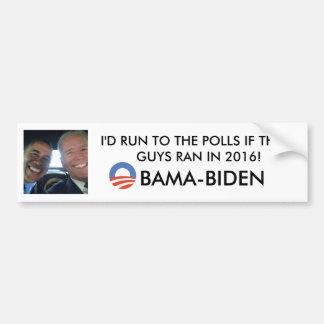 Obama-Biden 2016 - Bumper Sticker