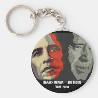 obama biden art copy , BARACK OBAMA     JOE BID... Keychains