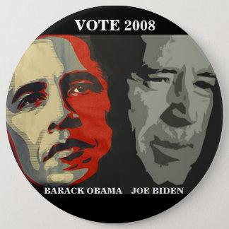 obama biden art copy , BARACK OBAMA    JOE BIDE... Pinback Button