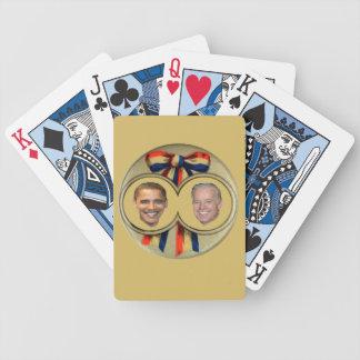 Obama Biden Baraja Cartas De Poker