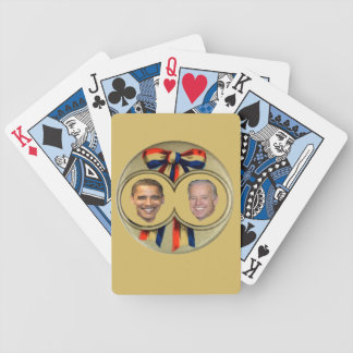Obama Biden Bicycle Playing Cards