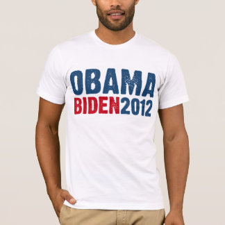 Obama Biden Blue/Red T-Shirt