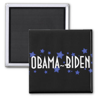 Obama Biden Blue Stars Magnets