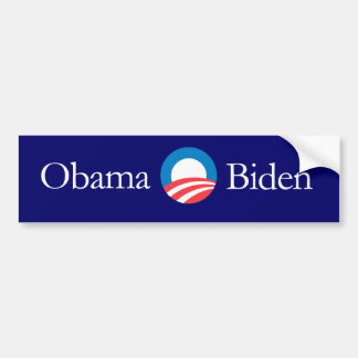 Obama Biden bumpersticker Bumper Sticker