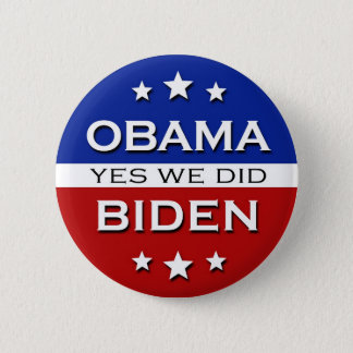 Obama Biden - button