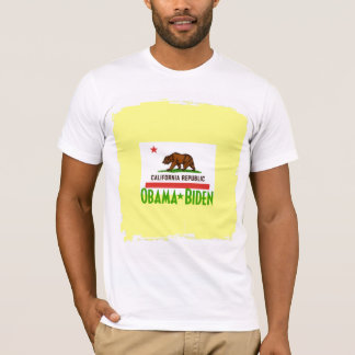 Obama Biden CALIFORNIA Tshirt