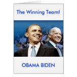 Obama Biden Card