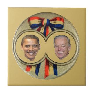Obama Biden Ceramic Tile