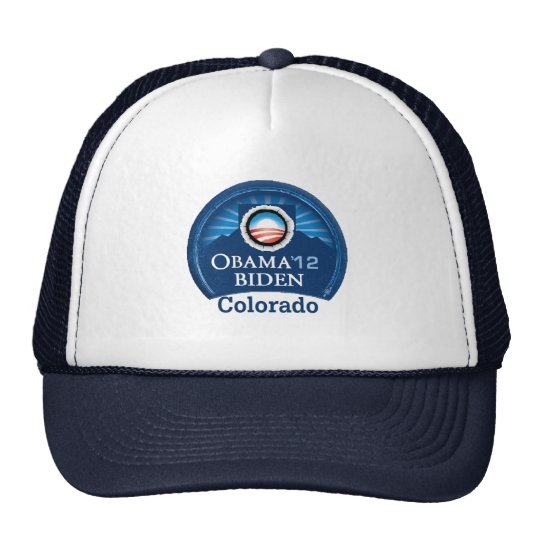 Obama Biden COLORADO Trucker Hat