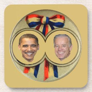 Obama Biden Coasters