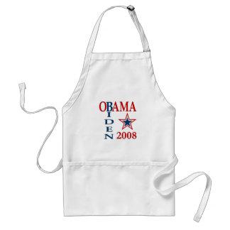 Obama Biden Cross 2008 Adult Apron