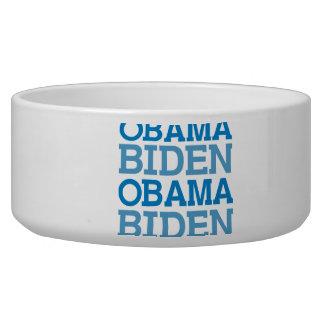 Obama Biden Dog Food Bowl