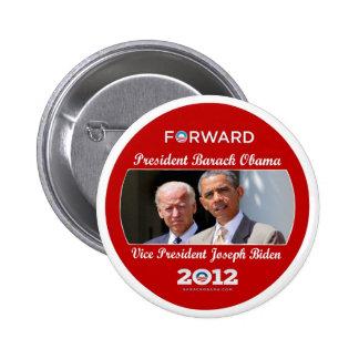 Obama/Biden: El equipo para usted Pin