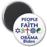 Obama Biden FAITH Magnet