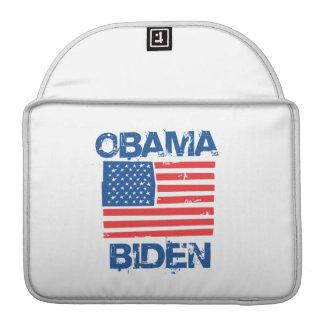OBAMA BIDEN FLAG BLUE -.png Sleeve For MacBooks