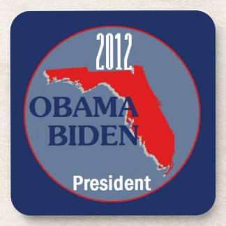 Obama Biden FLORIDA Drink Coaster