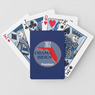 Obama Biden FLORIDA Bicycle Playing Cards