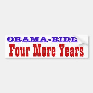 Obama-Biden--- Four More Years Bumper Sticker