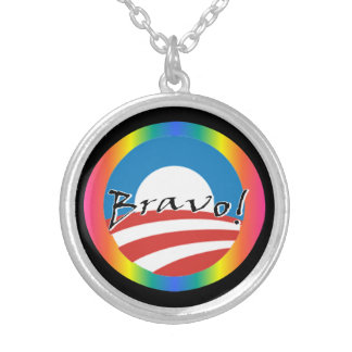 Obama - Biden Gay Rights necklace