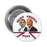 Obama / Biden Hope Button