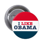 Obama Biden I Like Obama (Button)
