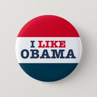 Obama Biden I Like Obama (Button) Button