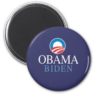 Obama Biden Imán Redondo 5 Cm
