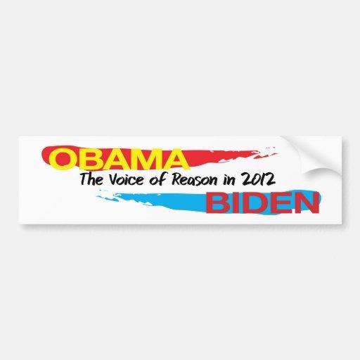 Obama Biden in 2012 Bumper Stickers