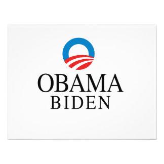 Obama Biden Custom Invite