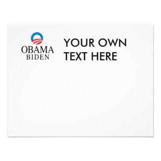 Obama Biden Custom Invites