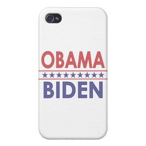 Obama-Biden iPhone 4 Carcasa
