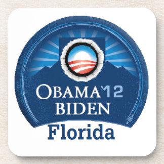 Obama Biden la FLORIDA Posavasos De Bebidas